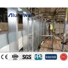 2 Meter breite Alufenwall Edelstahl-Aluminium-Verbundplatte / modernes Konstruktionsmaterial