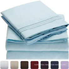hotel 300TC cotton sateen luxury home textile,bed sheet/bed sheets