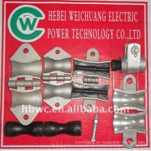 accesorios de energía eléctrica de alta resistencia, abrazadera de suspensión para OPGW