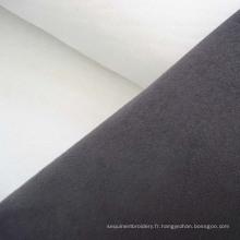Tissu d'ameublement velours polyester Faux Suede maison Sofa