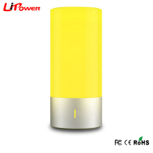 Branco cor toque sensível dimmable RGB levou cabeceira lâmpada de mesa