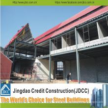Neues modernes Stahlbaugebäude