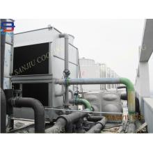Tour de refroidissement à boucle fermée de l'usine de refroidissement