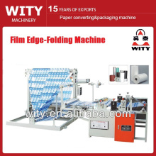 Máquina plegadora de borde de película