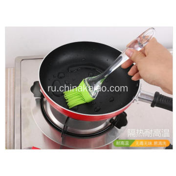 Wholesale Heat-resistance BBQ Basting Crystal Handle Silicone Oil Brushes