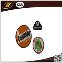 Custom Woven Badge para vestuário de futebol 3D Embroidery Patch