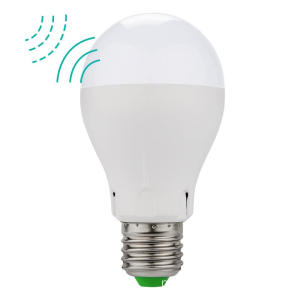 E27 E26 LED Microondas Sensor de Movimento Luz Bulbo