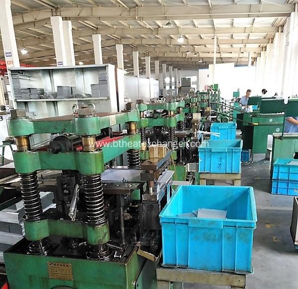 China Heat Exchanger Fins Aluminum Copper Ss Fins