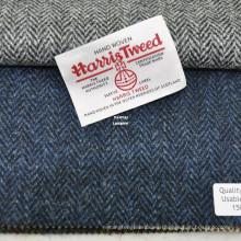 Tejido artesanal de Harris Herringbone Harris Tweed tejido a mano en stock