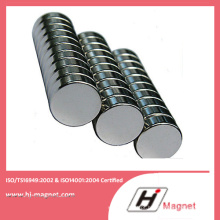 Ímã de NdFeB de cilindro de alta qualidade na indústria Manfuctured pela fábrica da China