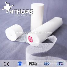 Vendaje de gasa de algodón quirúrgico de un solo uso