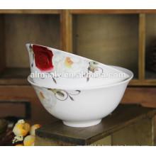Bol en porcelaine en cuvette en céramique de haute qualité
