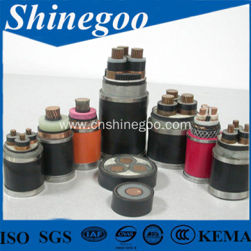 Cooper conductor silicon rubber Insulated Sheathed power cable