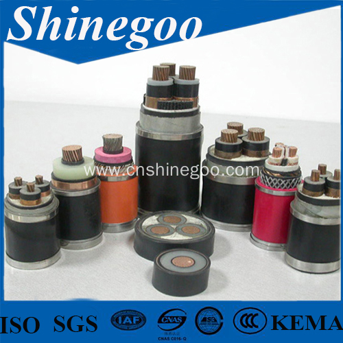0.6/1kV XLPE PVC steel tape armoured power cable