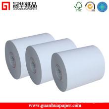 Rolo de papel térmico de alta qualidade de 80 mm de largura OEM