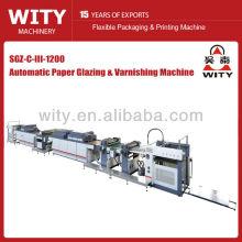 Máquina de recubrimiento UV & IR automática