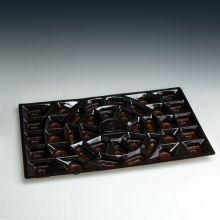Embalaje de plástico de alta calidad para bandeja de chocolate