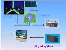 2kw, 3kw High Power Wind-Solar Hybrid Power Suppy System (HSW)