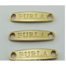 Hanging Tag Jewelry Metal Custom Garment Label