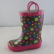 Rainboots manijas cómodas para los niños