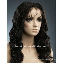 wholesale stock fashion beauty body wave remy indian hair full lace wig