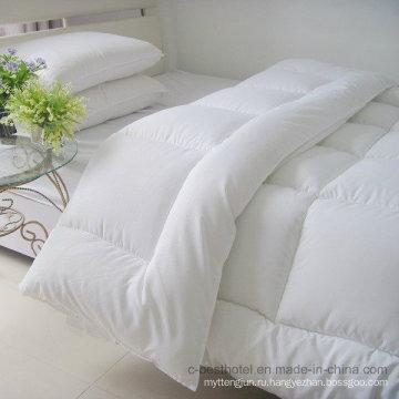 Постельное белье из 100% хлопка, одеяло с гусиным пухом и перьями