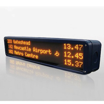 Outdoor Bus Station Top Message Scrolling Led Display