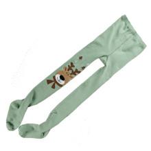 Kinder Kinder Baumwollstrumpfhose mit Tiermuster (TA607)