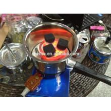 Électronique à charbon charbon de narguilé radiateur shisha chauffage électronique shisha charbon brûleur