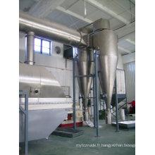 Sécheur rotatif-fluidisé rectilinéaire utilisé dans la graine de Lees