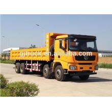 Shacman marca 8X4 drive dump truck para 15-28 metros cúbicos