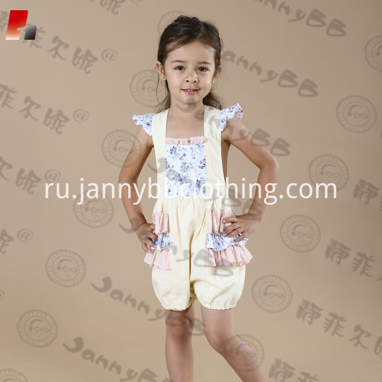 girls bubble romper