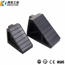 High Quality Rubber Truck Wheel Chock Made in China