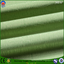 Jacquard Polyester Flame-Resistant Coated Black out Curtain Fabric