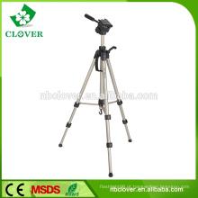 Tripé de câmera de vídeo profissional de liga leve de alumínio