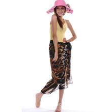 Classical Leopard Pattern Polyester Sarong