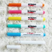 Hot Sale Fluorescent Highlighter Marker Pen with Eraser for LED Writing Board