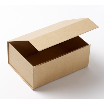 Thick Cardboard Foldable Rigid Book-shaped Gift Box