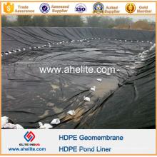Géomembrane HDPE lisse 1.5mm pour réservoir d'huile