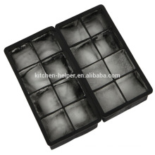 8 Cavity Most Practical Ice Mold Silicone Square Moule à glace antiadhésive