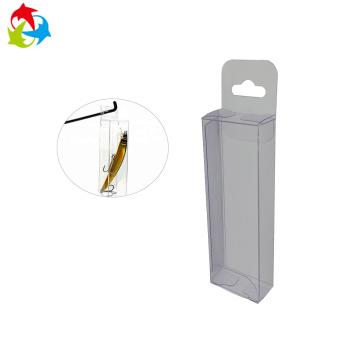 Hanger fish bait PVC plastic clear acetate box