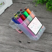 12 Colors Water Color Pen with Seal