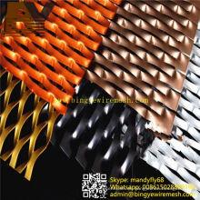 Hoja de metal expandido de aluminio en forma de Rhombic