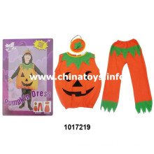 Halloween roupas abóbora pano vestido de abóbora (1017219)