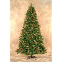 Hoja de PVC de alta calidad para hojas de árbol de Navidad
