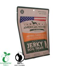Resealable Ziplock Eco Friendly Food Packaging Brown Paper Coffee Bag with Valve