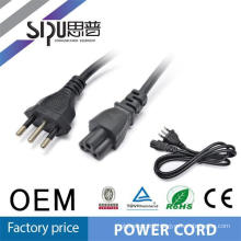 SIPU stranded CU material Italy power cords for laptop 1.5m