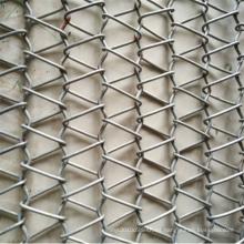 Cinta transportadora de la malla de alambre del acero inoxidable de la industria alimenticia