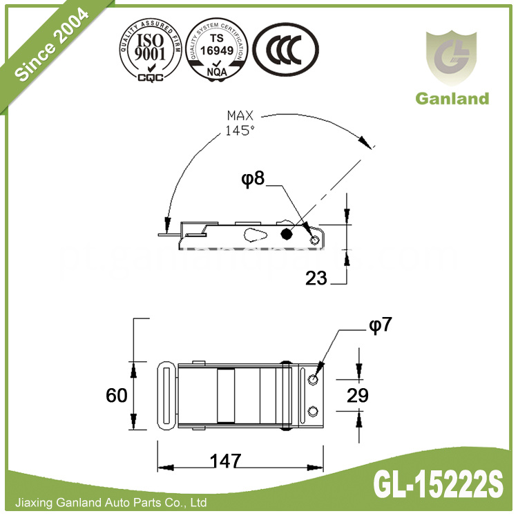 Curtain Buckle GL-15222S-1