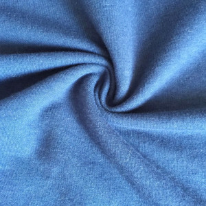Cotton viscose CR french terry knitting fabric